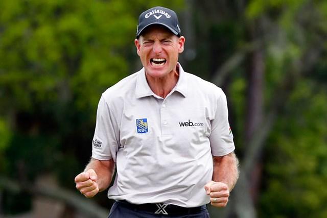 もの静かな男フューリックの激情は、勝利のなかった5年間の長さを物語った(Matt Sullivan/Getty Images)