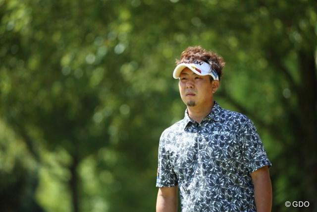首位と2打差の3位タイで決勝ラウンドに進んだ塚田陽亮 ※画像は15年「東建ホームメイトカップ」