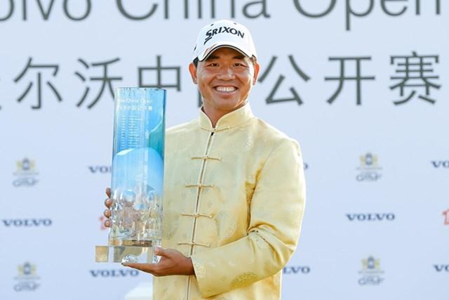 中国勢としては3人目となる欧州ツアー制覇を遂げた呉阿順 (Lintao Zhang/Getty Images)