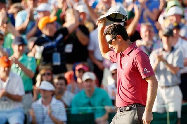 マスターズの2位タイから好調の続くローズが世界ランクを6位まで戻した(Getty Images)