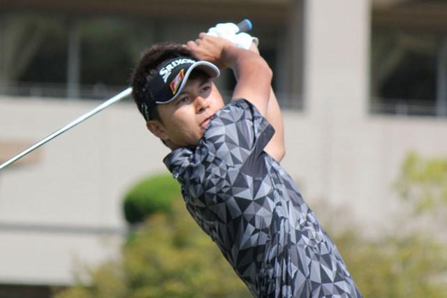「65」をマークした大堀裕次郎が、首位と1打差2位の好発進を決めた ※大会提供写真