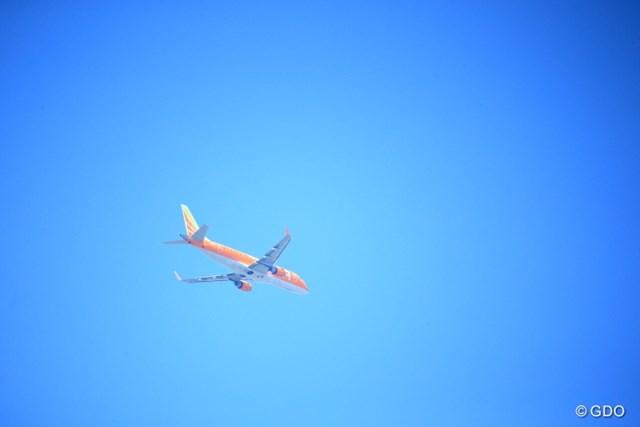 あなたが一番飛んでます。