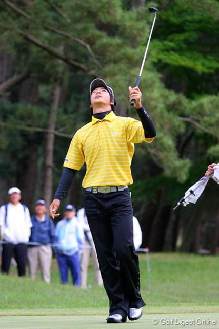三菱ダイヤモンドカップゴルフ 2日目 石川遼 強風の影響はパッティングにも。石川遼だけでなく、全ての選手が苦しんだ