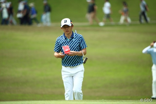 昨年度の賞金ランキング3位の近藤共弘は新シーズン序盤で手応えの2位