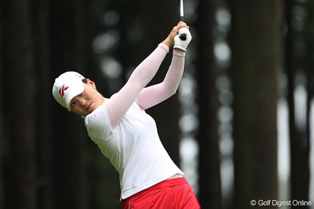 2009 廣済堂レディスゴルフカップ 2日目 飯田マリア 5位タイにつけるのは、日系3世のブラジル人・飯田マリア