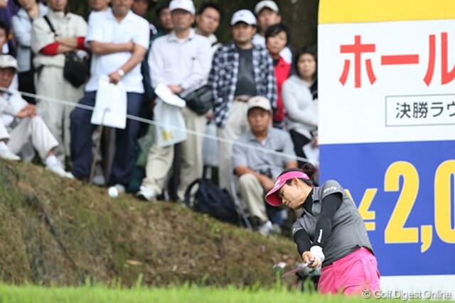廣済堂レディスゴルフカップ2日目 キム・ソヒ キム・ソヒ、ねらうはホールインワン。