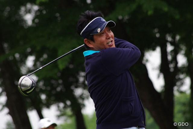 ライブツアーにキャディバッグを持ち込むほどゴルフ好き!?前田亘輝さんが著名人の部で首位発進