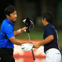 前半の貯金を生かし、ノーボギーのナイスプレーでしたね。4アンダー12位タイ 2015年 日本プロゴルフ選手権大会 日清カップヌードル杯 初日 岡茂洋雄