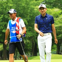東北福祉大の歴代キャプテンのひとり。韓国人選手では異色の経歴といっていい 2015年 日本プロゴルフ選手権大会 日清カップヌードル杯 3日目 K.T.ゴン