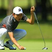 最終日にスコアを伸ばせず、11位タイフィニッシュ。でも、今年初優勝の可能性があると感じさせてくれるゴルフの4日間でしたね。 2015年 日本プロゴルフ選手権大会 日清カップヌードル杯 最終日 K.T.ゴン