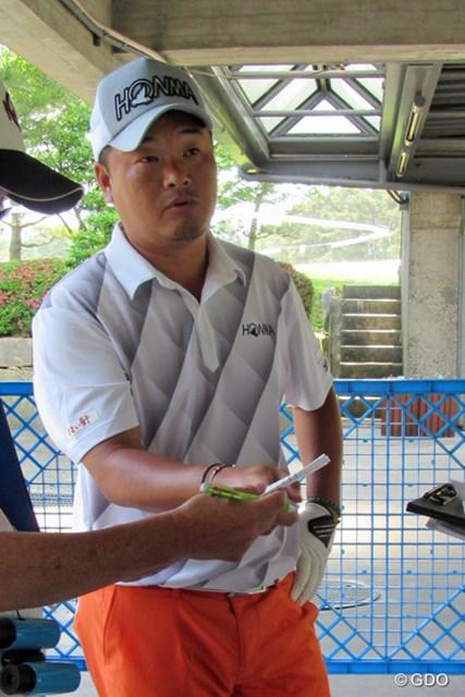 前年覇者は小田孔明。開幕前日はコースに出ず、軽めの練習で最後の調整を終えた