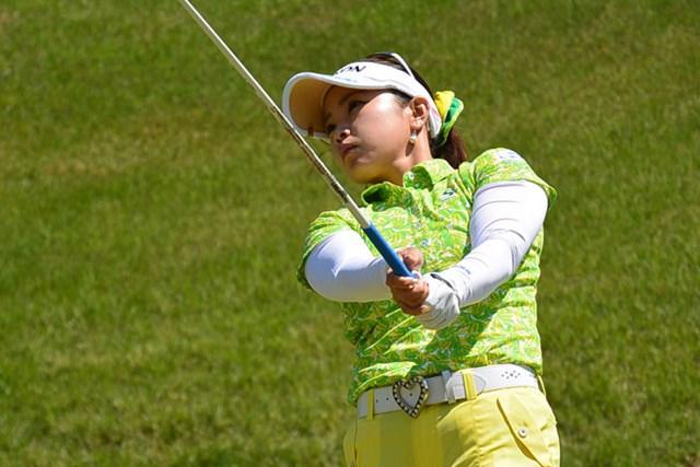 青山加織が、初日「69」をマークして、首位タイの好スタートを切った※画像提供:日本女子プロゴルフ協会