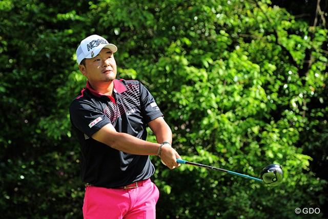 2015年 関西オープンゴルフ選手権競技 初日 小田孔明 昨年のチャンプは首位と4打差の1アンダー23位タイ発進。ちょうどエエ位置かも知れまへんでェ~!