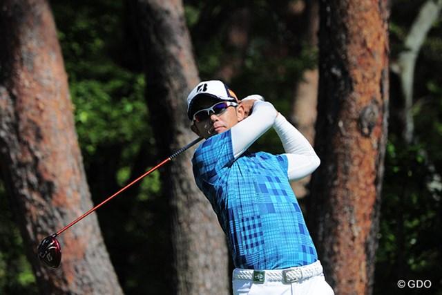 2015年 関西オープンゴルフ選手権競技 初日 近藤共弘 なんとホールインワンを決めたんやって?その一発が効いて2アンダーの18位タイやないですか~!