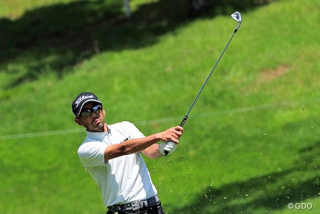 2015年 関西オープンゴルフ選手権競技 初日 藤田大 トップアマから33歳でプロ転向。異色のキャリアを持つ藤田大(ふじた・ふとし)が5位発進