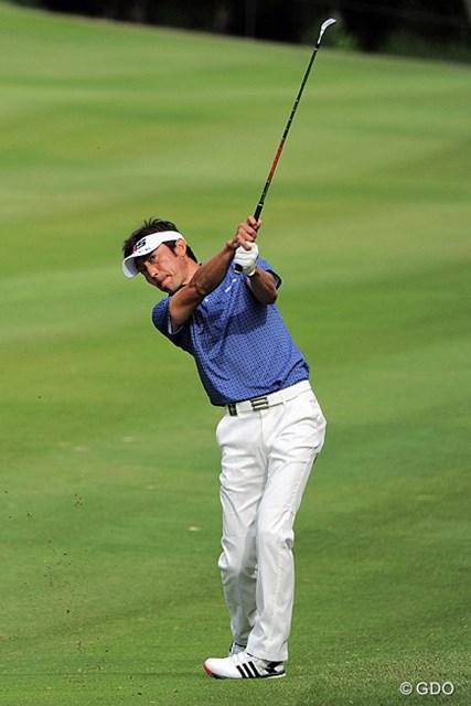 2015年 関西オープンゴルフ選手権競技 2日目 河井博大 去年からず~と好調キープやないですか?いつも上位におる気がしますが、関西方面が恵方なんでしょうか?12位タイ