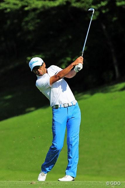 2015年 関西オープンゴルフ選手権競技 2日目 藤田大 プロゴルファーとして初の賞金ゲットンおめでとうございま~す。きっと嬉しいんやろねェ。今頃ニンマリしてる?15位タイ