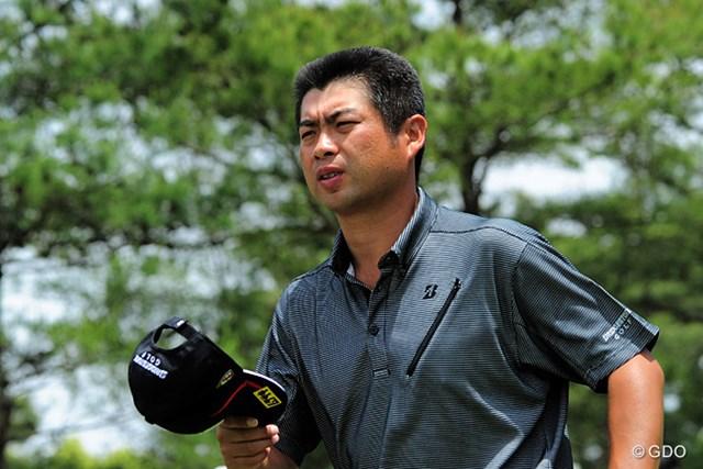 2015年 関西オープンゴルフ選手権競技 2日目 池田勇太 今シーズンも関西は鬼門なんでしょうか…。コースに脱帽してる訳やないんやろけど、残念ながら予選落ちです。