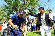 2015年 関西オープンゴルフ選手権競技 最終日 片岡大育、市原弘大