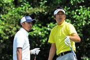 2015年 関西オープンゴルフ選手権競技 最終日 山下和宏、岩田寛