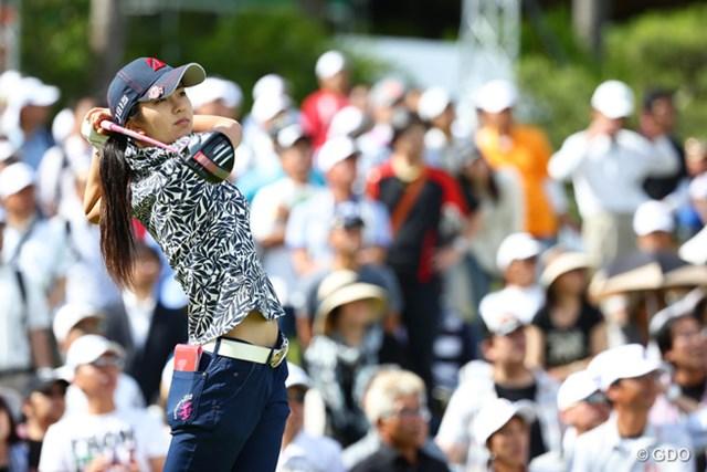 2015年 中京テレビ・ブリヂストンレディスオープン 最終日 堀琴音 全米女子オープンの予選会には申込み済み「出るかどうかはハーフハーフ」