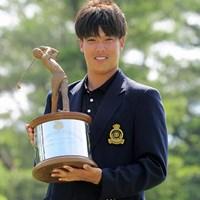 長谷川祥平が上位でローアマタイトルを獲得。スター性も備えた楽しみな21歳だ 2015年 関西オープンゴルフ選手権競技 最終日 長谷川祥平