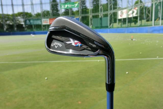 新製品レポート キャロウェイゴルフ XR アイアン レディス 「安心の構えと、安定の打感」キャロウェイゴルフ XR アイアン レディスを試打レポート