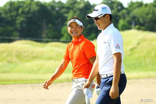 2015年 ~全英への道~ミズノオープン 2日目 片岡大育、川村昌弘 今季はこの若手2人の活躍に期待大ですな。
