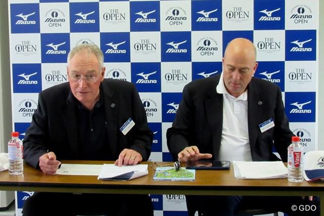 「全英オープン」を主催するR&Aが会見を行い、コースの変更点などを発表した