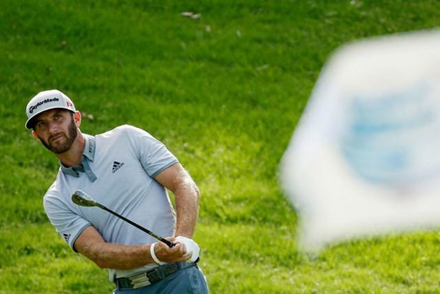 D.ジョンソンが「62」をマークして26位から2位に浮上した(Scott Halleran/Getty Images)