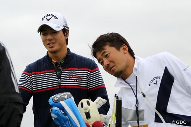 佐藤賢和キャディとの新コンビ。石川遼は1週間のオフ明けの試合で上位を狙う
