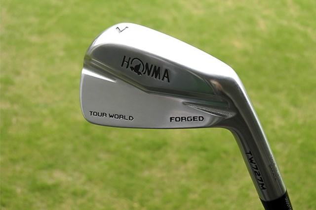 新製品レポート 本間ゴルフ TW727M アイアン 谷原秀人プロ監修のシャフトを装着。『本間ゴルフ TW727M アイアン』を試打レポート