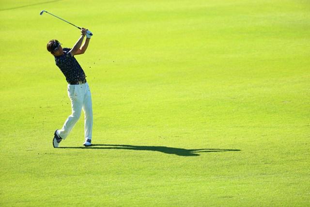 長期視点でゴルフを改造中の深堀圭一郎。今季全5試合はすべて予選落ちだが、難コースでは自然と上位に顔を出した