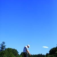 今日は晴天でーーす! 2015年 日本ゴルフツアー選手権 Shishido Hills 初日 スティーブン・ジェフレス