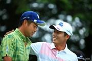 2015年 日本ゴルフツアー選手権 Shishido Hills 3日目 池田勇太 I.J.ジャン