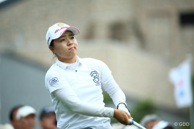 「思いどおりのゴルフができた」。ようやくツアー転戦に慣れてきたという永峰咲希
