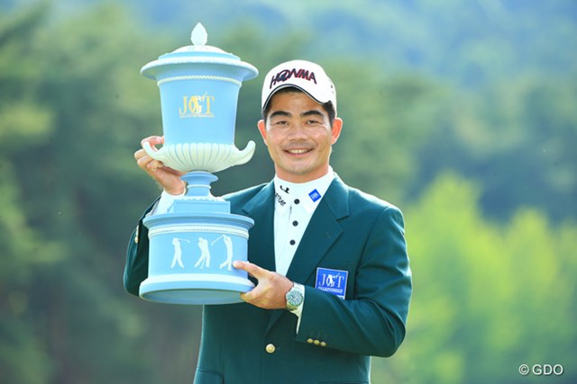 2015年 日本ゴルフツアー選手権 Shishido Hills 最終日 リャン・ウェンチョン 中国のリャン・ウェンチョンが日本ツアー初優勝をメジャー制覇で飾った