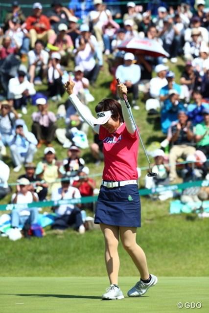 大会2勝目を飾った大山志保、優勝の瞬間はさまざまな想いが頭の中を巡った