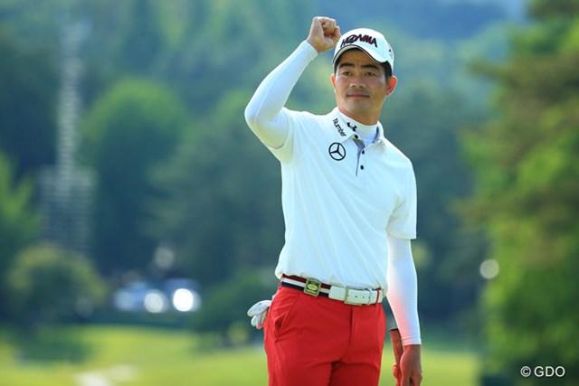ついに日本ツアー初優勝を成し遂げた梁津萬。メジャー大会で5年シードも獲得した