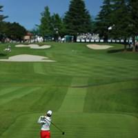 優勝まであと1ホール しかしフィニッシュが独特 2015年 日本ゴルフツアー選手権 Shishido Hills 最終日 リャン・ウェンチョン