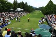 2015年 日本ゴルフツアー選手権 Shishido Hills 最終日 1番ホール