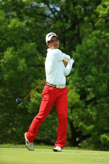 2015年 日本ゴルフツアー選手権 Shishido Hills 最終日 リャン・ウェンチョン 最終日は1Wが乱れたが、巧みなゴルフで日本ツアー初優勝を掴み取ったリャン・ウェンチョン