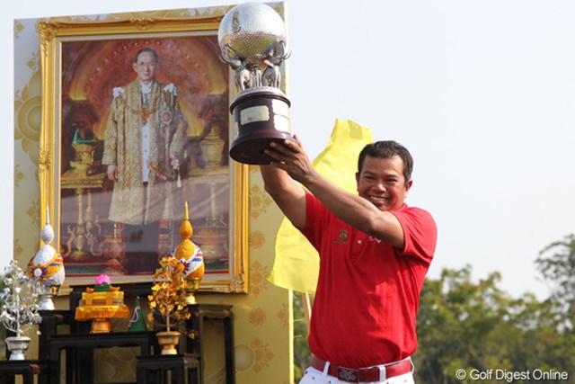前回の13年大会はP.マークセンが優勝。タイの情勢不安もあり2年ぶりの実施となる