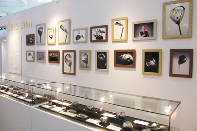 キャロウェイゴルフのミュージアム展が開催
