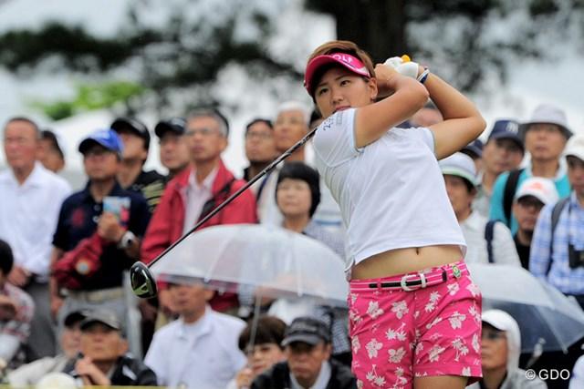 成田美寿々が自己ベスト「63」を記録して、9アンダーでホールアウトした