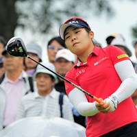 韓国のアマチュア(!)選手で17歳(!!)やそうです。キム・ヒョージュの例もあるからなァ…。5位タイ。 2015年 サントリーレディスオープン 初日 イ・ソヨン