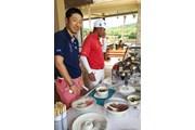 2015年 シンハーコーポレーション タイランドオープン 小林正則選手とチャワリット社長