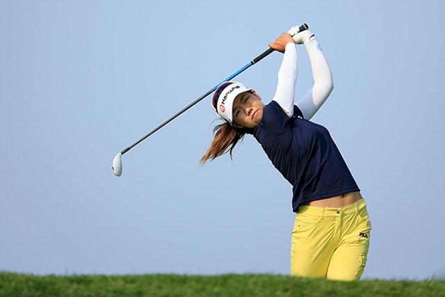 2015年 KPMG女子PGA選手権 初日 ジェニー・シン 韓国のジェニー・シンが首位に立った(David Cannon/Getty Images)