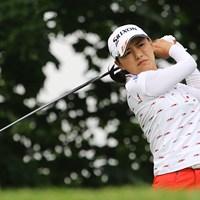 フェードが打てない?横峯さくらは原点回帰を決心した。 2015年 KPMG女子PGA選手権 初日 横峯さくら