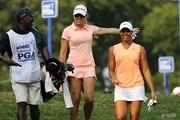2015年 KPMG女子PGA選手権 初日 ナタリー・ガルビス、シャイアン・ウッズ
